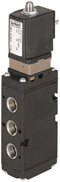 Bürkert NAMUR mounted pilot solenoid valve – Type 6519