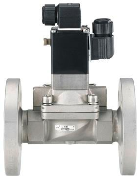 Bürkert solenoid valve with optional NAMUR feedback switch – Type 5282