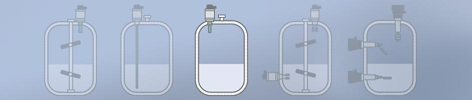 Füllstandsmessung Ultraschall Schema