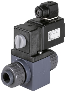 Type 0131 - Direct-acting 2/2 or 3/2 way toggle valves