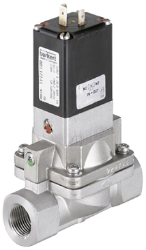 Type 5282 - Servo-assisted 2/2 way diaphragm valve